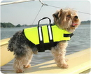 Hunter K9 Wholesale HK9A-1000 Dog Life Jacket - The Paws Aboard Dog Life Vest - 6 sizes (YELLOW COLOR)