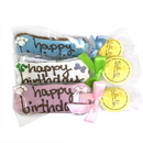 Bubba Rose Biscuit INDBDAY Individually Wrapped Birthday Cookie Set