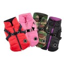 Puppia PAPD-VT1366 Mountaineer II Fleece Vest with Harness by Puppia®