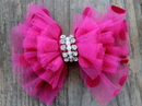 Diva Dog PARTYDRESSPINK Party Dress Pink Removable Dog Collar Bow