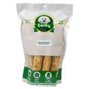Lucky Premium Treats PBL4 Bull Sticks (Large Size) Peanut Butter Basted Rawhides