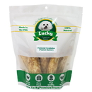 Lucky Premium Treats PBLS2 Stubby's (Large Size) Peanut Butter Basted Rawhides
