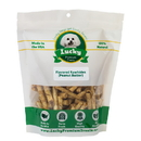 Lucky Premium Treats PBT1 Toy Size Peanut Butter Basted Rawhides