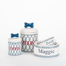 Creature Comforts PER-NAUT Personalized Nautical Bowls and Treat Jars Collection*