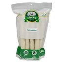 Lucky Premium Treats PLR4 Large Dog (Retriever) Size Plain Rawhides, 15 Count per Bag