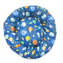 Mutts and Mittens ROCCA Catmosphere Cotton Fabric Round Pet Bed