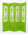 Wayborn 2239G Spider Web Screen, 78'' x 72'' x 1'', Green