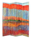 Wayborn 2282 Fall In The Forest, 72'' x 64'' x 1'', Multi Color