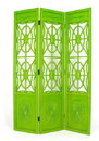 Wayborn 2339G Spider Web Screen, 78'' x 54'' x 1'', Green