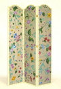 Wayborn 2390 Floral Screen, 72'' x 48'' x 1'', Multi Color