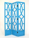 Wayborn 2395T Charleston Screen, 76'' x 54'' x 1'', Teal
