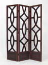 Wayborn 2395 Charleston Screen, 76'' x 54'' x 1'', Brown