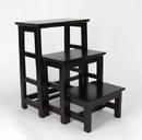 Wayborn 3517X Step Table, 25'' x 19'' x 25'', Dark Brown