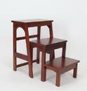 Wayborn 3517 Step Table, 19'' x 28'' x 25'', Brown