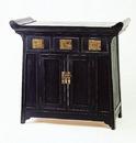 Wayborn 4051 Alter Cabinet, 34'' x 39'' x 18'', Ant. Black