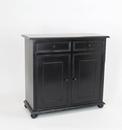 Wayborn 4399 Jayson Cabinet Black, 35'' x 38'' x 16''