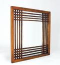 Wayborn 4824 Burma Mirror, 28'' x 28'' x 1'', Brown