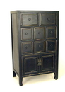 Wayborn 5544 Suchow Chest, 42'' x 25'' x 16'', Ant. Black