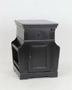Wayborn 5562B Euphonious Magazine Cabinet, 19'' x 18'' x 24'', Ant. Black