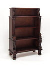 Wayborn 5693 Bookcase, 54'' x 36'' x 15'', Brown