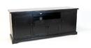 Wayborn 5709B Plasma Console, 24.5'' x 58'' x 17'', Black
