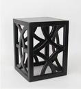 Wayborn 5715B Charleston Table, 24'' x 18'' x 18'', Black