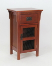 Wayborn 9021 Cabinet, 17.5'' x 13.5'' x 30'', Oak