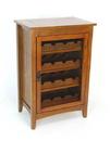 Wayborn 9047 Hugo Wine Cabinet, 36'' x 24'' x 16'', Oak