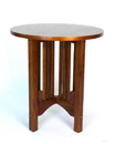 Wayborn 9069 Oak Table, 28'' x 26'' x 26'', Oak