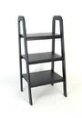 Wayborn 9076B Ladder Stand, 44'' x 22'' x 19'', Black