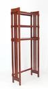 Wayborn 9080 Space Saver, 68'' x 28'' x 11'', Brown