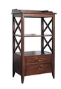 Wayborn 9110 Eiffel Rack, 41'' x 23'' x 15'', Brown