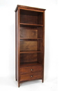 Wayborn 9123 Book Shelf, 82'' x 32'' x 16'', Brown