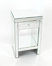 Wayborn MC006 Beveled Mirror Chest Of One Drawer, 26'' x 16'' x 14''