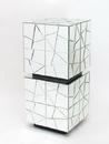 Wayborn MC013-AB Beveled Mirror Pedestal, 36'' x 16'' x 16'', Mirror