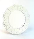Wayborn MR304 Beveled Bright Star Mirror, 32.5'' x 32.5'' x 0.625''