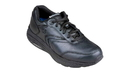 InStride 6000 Newport Lace Mens Leather Walking Shoes - Black