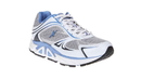 Xelero X67845 Genesis Ladies Walking Shoes - White/Periwinkle