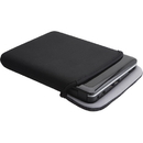 Kensington Technology Ken-4305 Reversible & Durable Neoprene Sleeve for the Apple iPad - Black/Gray