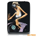 Garibaldi David - Dj Free, Zippered Neoprene 10 Netbook/Tablet Sleeve