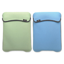 Manhattan Empire 421928 Reversible Notebook Sleeve Fits Most Widescreens Up To 12.1 Green And Baby Blue