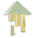 Angelo Brothers 76505 Artworks Home Decor Wireless Pyramid Door Chime