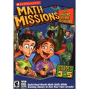 Scholastic 04767 Math Missions: The Amazing Arcade Adventure (Grades 3-5) With Math Card Game