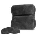 Travelon 12512 Ultra Fleece Travel Pillow & Eye Mask Set