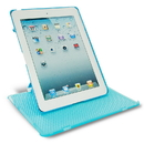 Keydex UG-PA1202-BL Slim-Fit Genius Cover For Ipad With Rotating Stand - Blue