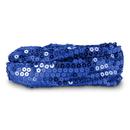 Calypso Studios Glitz Bendi Sequin Wire Headband, Blue