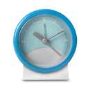 Stand Up Analog Alarm Clock