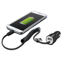 Muvit Rapid 2.1A Premium Micro USB Car Charger with USB Port