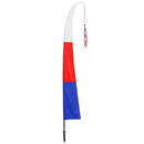 Collapsible Garden Party Freedom Flag, Red/White/Blue