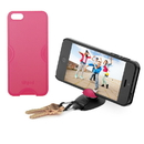 Tiltpod 4-in-1 Tripod, Phone Case, Keychain, and Stand for iPhone 5 (Pink)